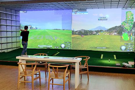 深圳斯耐客高尔夫训练馆