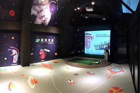 深圳超级星球室内高尔夫教学中心
