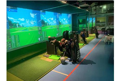 深圳美橡室内高尔夫教学中心